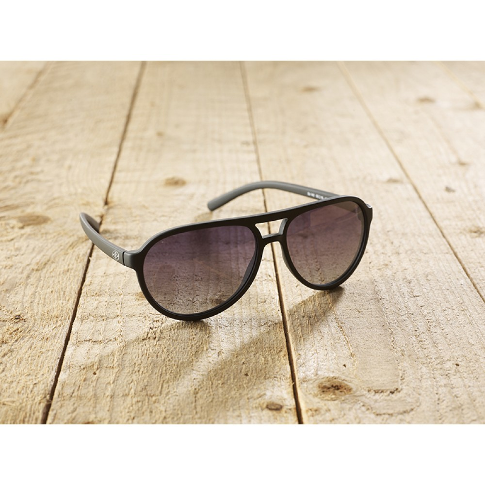 Bologna black by eco-sunglasses.com