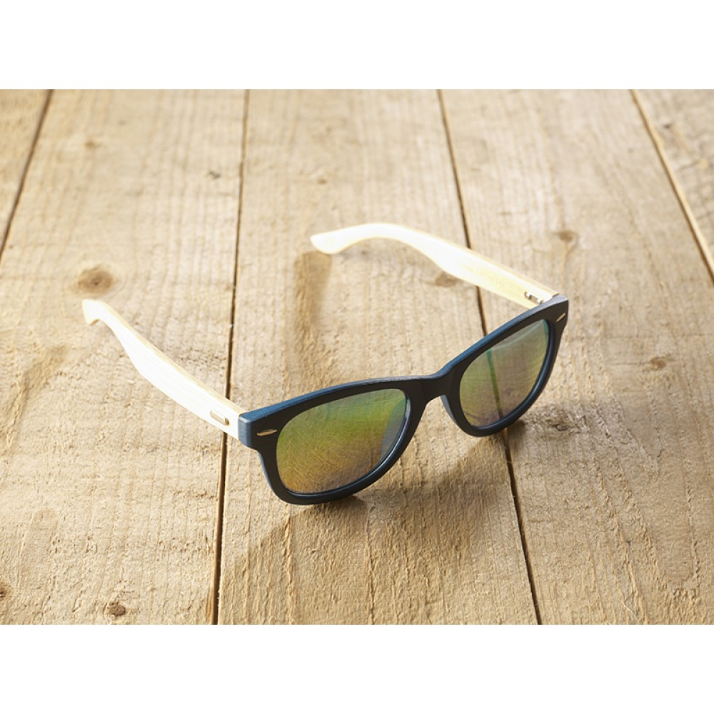 Genua Blue unisex mirr blue by eco-sunglasses.com