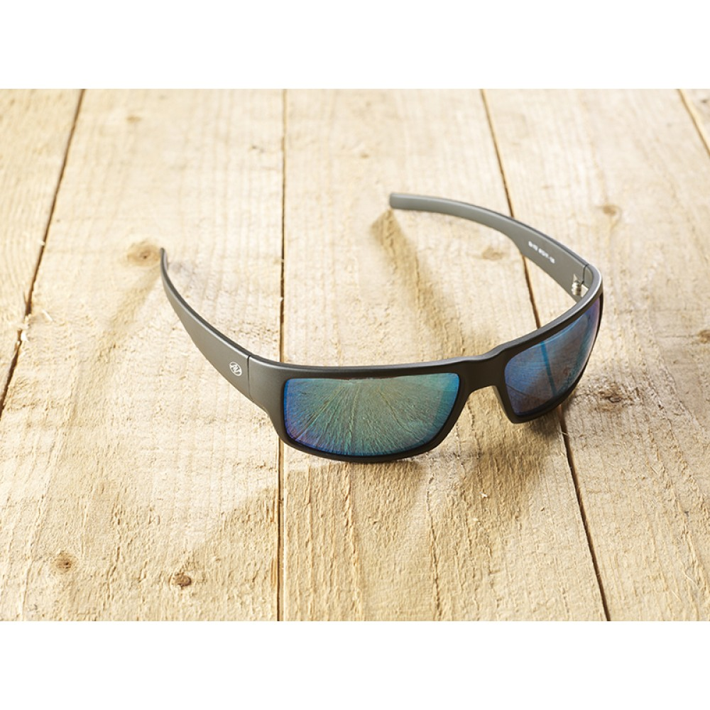 Parma Black mirr blue by eco-sunglasses.com