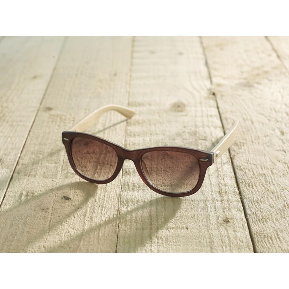Trento Brown unisex by eco-sunglasses.com