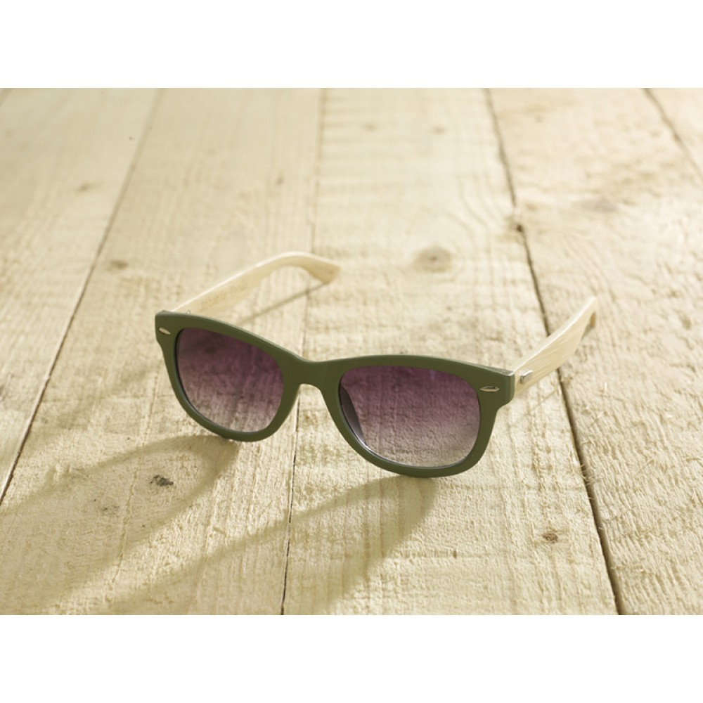 Trento Green unisex by eco-sunglasses.com