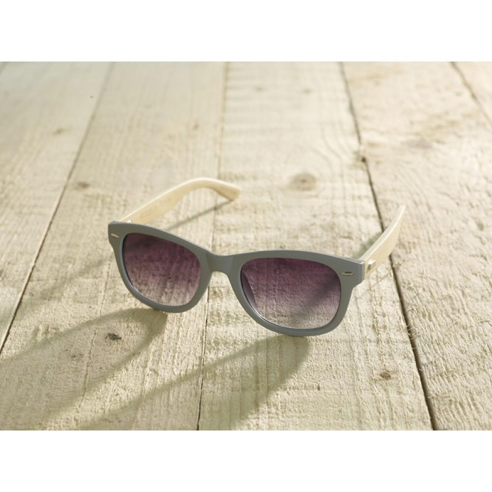 Trento Grey unisex by eco-sunglasses.com
