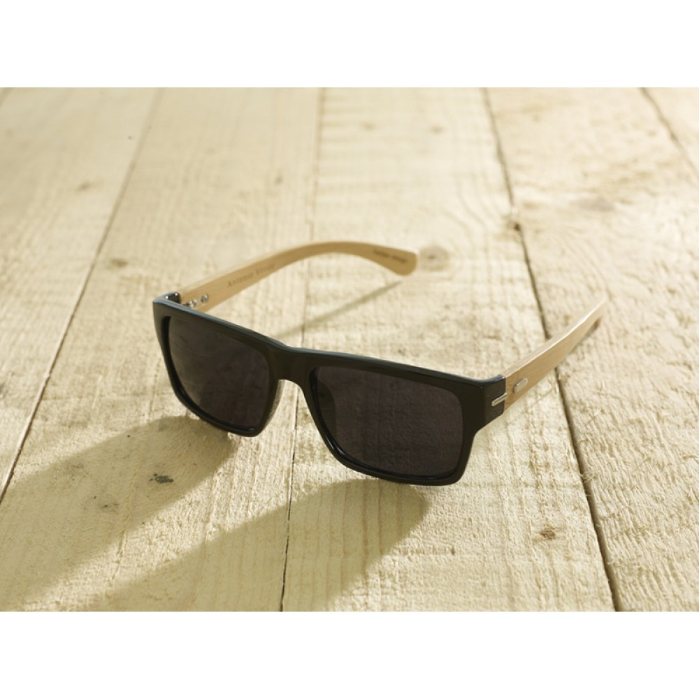 Roma Black Shiny unisex by eco-sunglasses.com