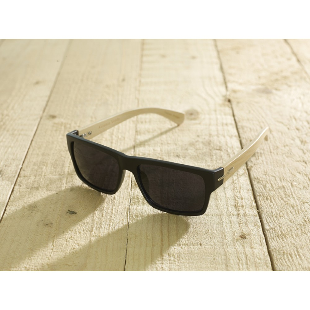 Roma Black unisex by eco-sunglasses.com