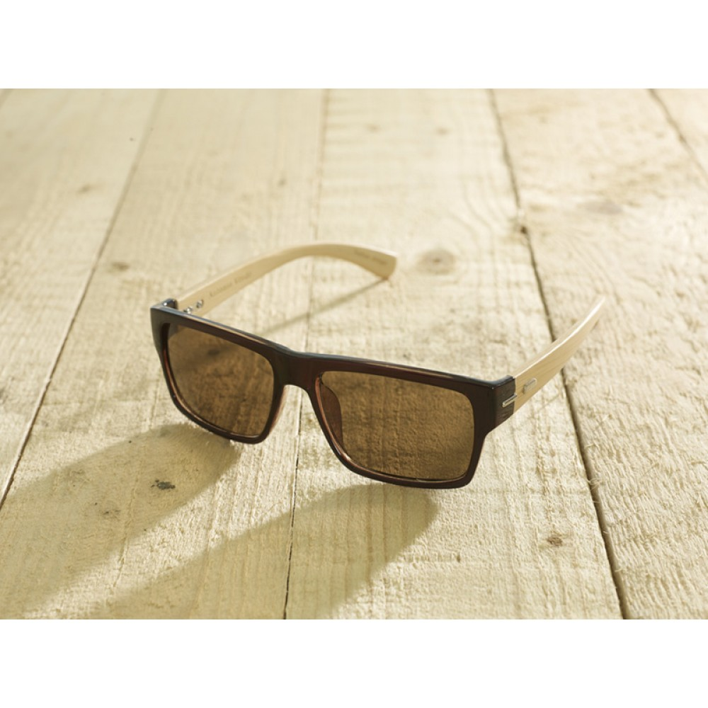 Roma Brown unisex by eco-sunglasses.com