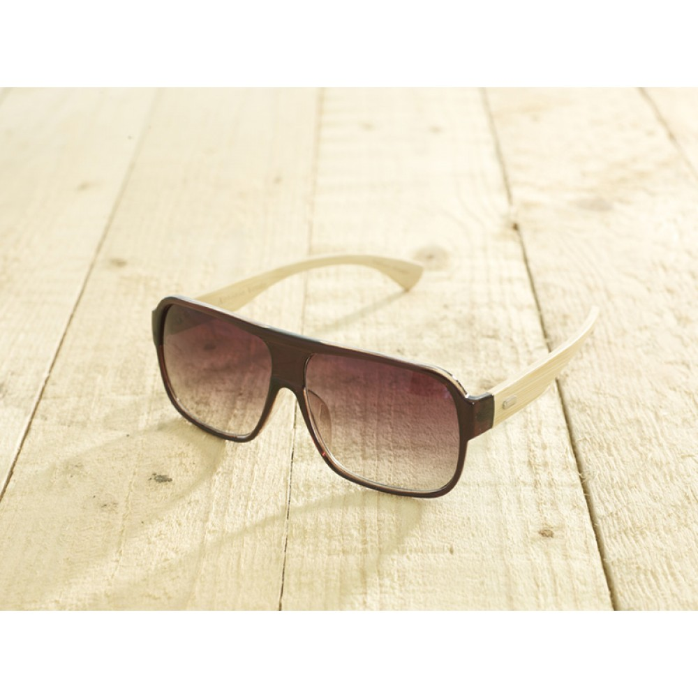 Venice Brown unisex by eco-sunglasses.com