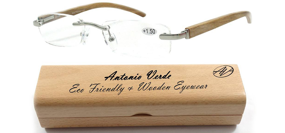 Wooden readerglasses