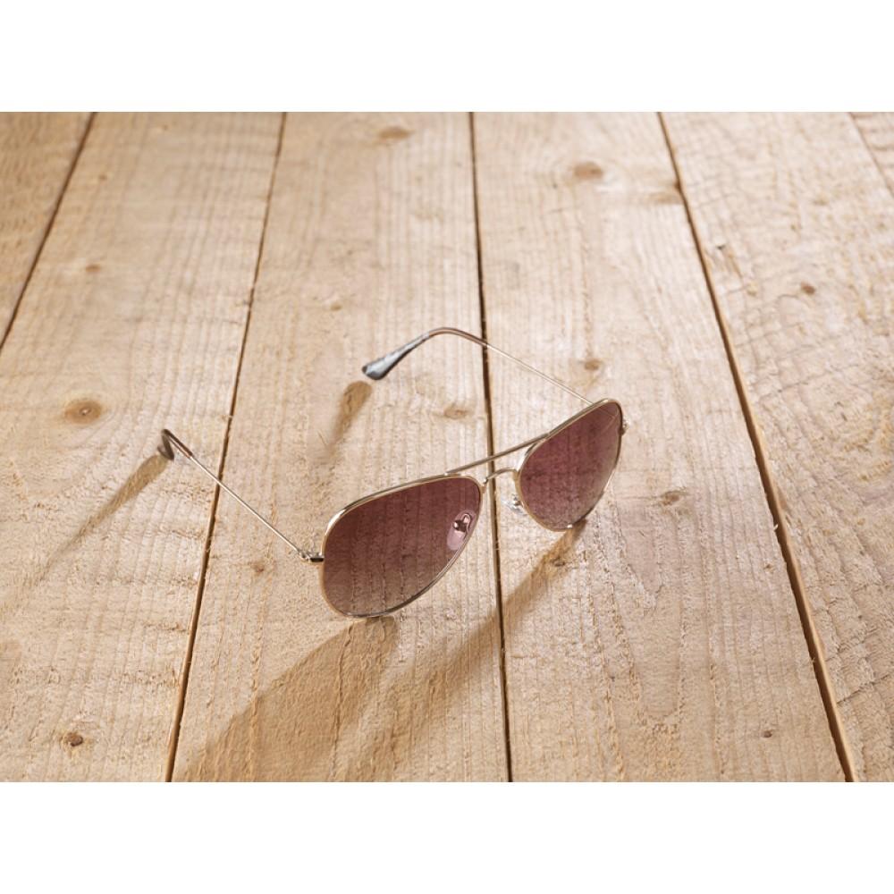 Casperia Nickel free brown by eco-sunglasses.com