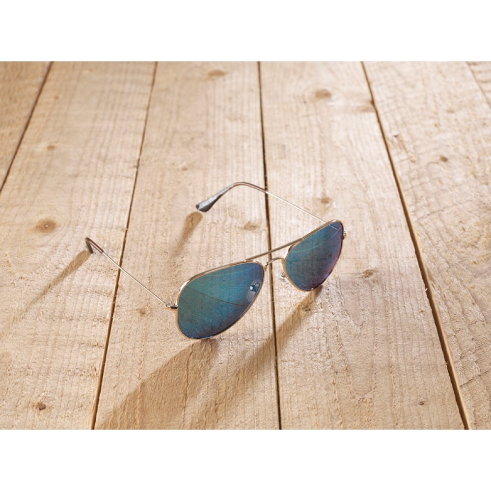 Casperia Nickel free Blue by eco-sunglasses.com