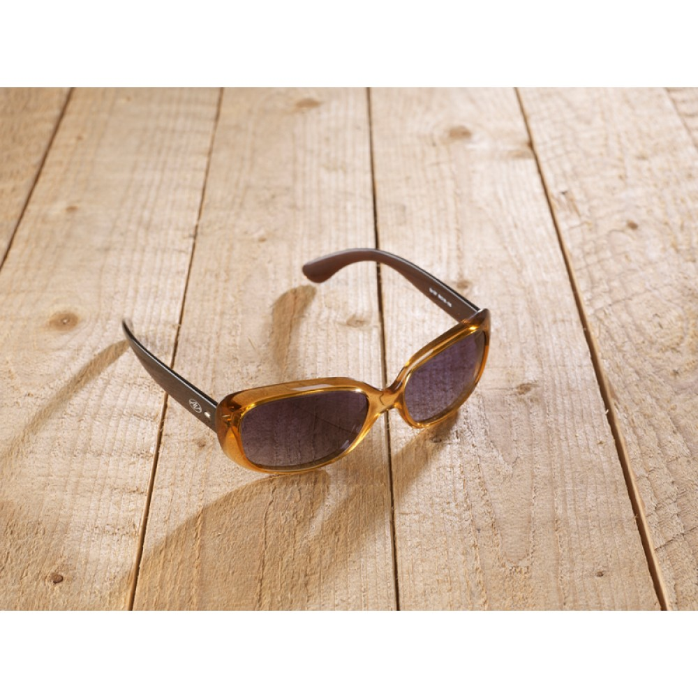 Licenza brown/honey by eco-sunglasses.com